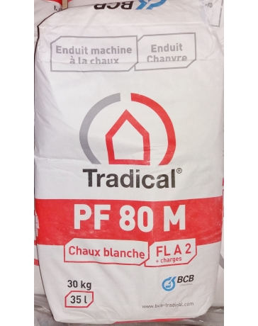 TRADICAL PF80 M chaux pour enduits