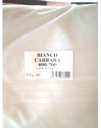 POUDRE DE MARBRE de CARRARE 0,4 - 0,700 mm