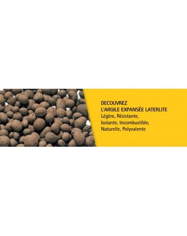 LATERLITE BILLES d'ARGILE EXPANSES 2/3